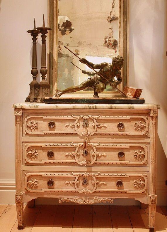 Bleached LXVI commode c.1800 · Antique InteriorAntique FurniturePainted ... - 112 Best Interior Design Furniture Images On Pinterest