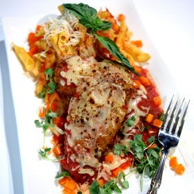 Chicken Parmesan, a recipe from the ATCO Blue Flame Kitchen.
