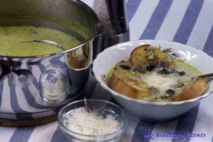 Kalabryjska zupa grzybowa - My Blueberry Corner