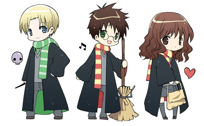 HP stickers. by *inma :: poor ron never seems to be included.
