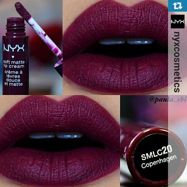 NYX Soft Matte Lip Cream in 'Copenhagen' <3