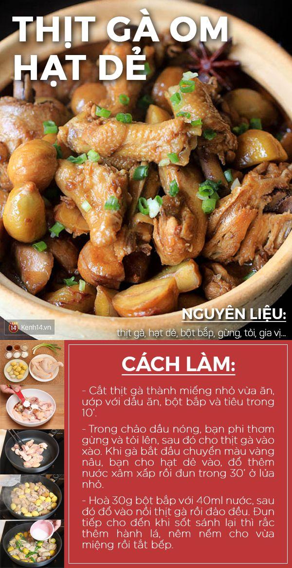 Thực đơn gà om hạt dẻ nấu khỏe – ăn ngon cho ngày đông hửng nắng - Ảnh 1.