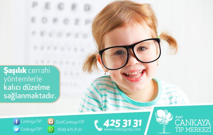 Şaşılık, göz kaslarındaki dengesizliğe bağlı olarak ortaya çıkmaktadır. Gözlük ya da prizma gibi optik sistemlerle düzeltilemeyen şaşılık hastalarında cerrahi yöntemlerle kalıcı düzelme sağlanmaktadır. Bilgi ve randevu için;  Online Randevu:http://bit.ly/online_randevu Tel: 0 232 425 31 31 WhatsApp: 0549 425 31 32