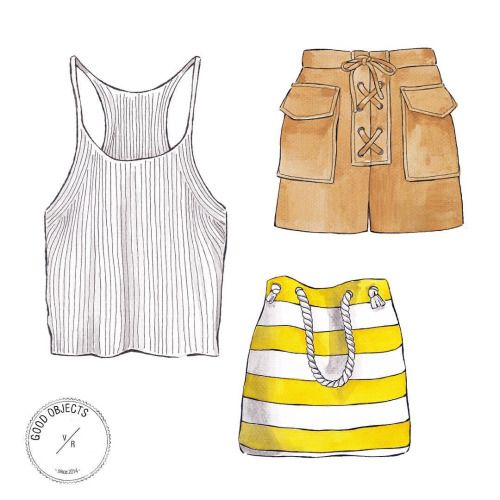 Good objects - Summer in the city ☀️ #goodobjects #illustration