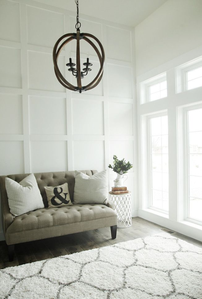 Classic And Clean Living Room Modern Rustic Orb LightOrb ChandelierWhite