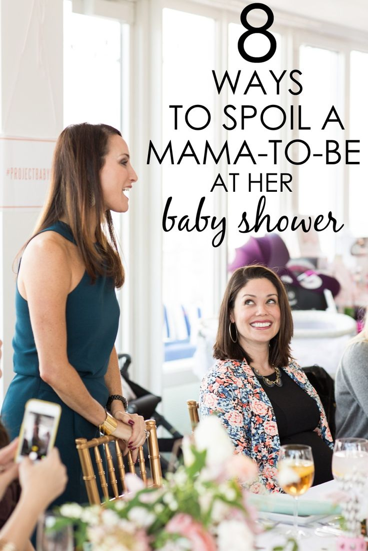 8 Ways to Spoil a Mama-To-Be at her Baby Shower | Project Nursery