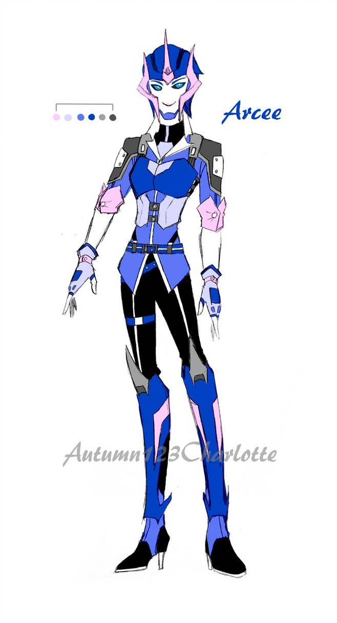 Half Humanization Arcee By Autumn123charlotte Transformatory Oboi