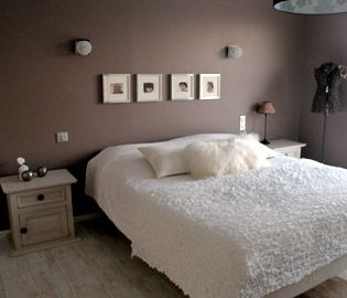 peinture chambre adulte - Chambre Adulte Rose Pale Et Beige