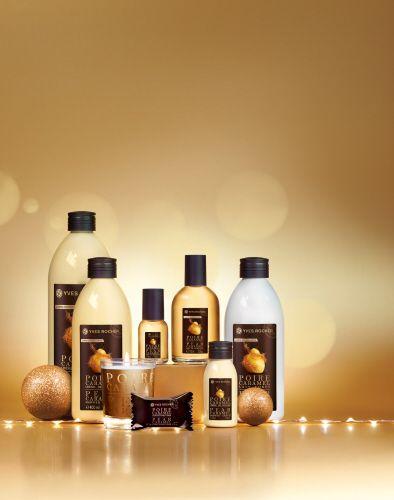 La edición limitada Plaisirs Nature de las navidades: Pera-Caramelo. Una combinación dulce y sensorial.