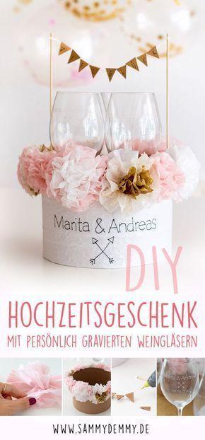 Gravurgeschenke mit DIY Verpackung für Hochzeit Geburtstag und CO – #DIY #für …