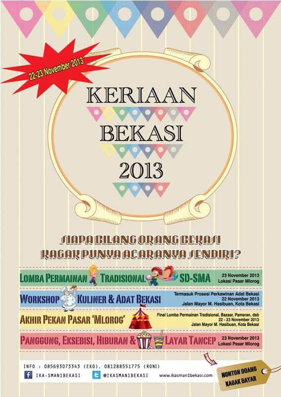 Keriaan Bekasi 2013
