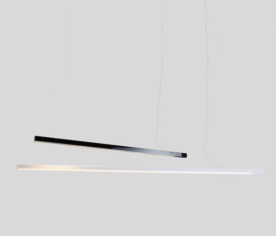 General lighting | Suspended lights | Black Bar | White Bar. Check it on Architonic