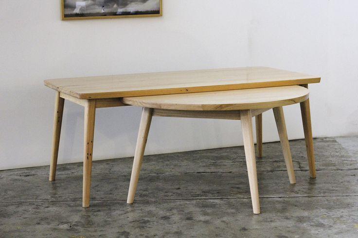 Custom 7 Legged Table made from recycled Mountain Ash timber YARD Furniture, Melbourne Australia