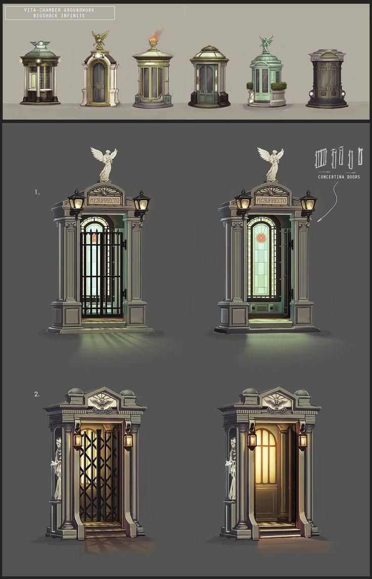ArtStation - Bioshock Infinite Vita-Chamber, Chris Chaproniere