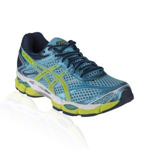 Asics - Gel Cumulus 16 Running Shoe - Turquoise/Sharp Green/Navy