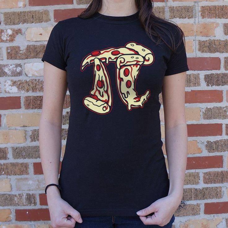 Ladies Pizza Pi T-Shirt