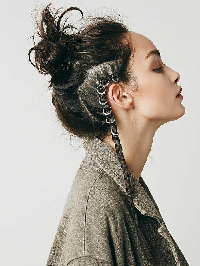 1001 Tutorials Und Inspirierende Fotos Fur Eine Wikinger Frisur Frisuren Langhaar Zopf Lange Haare Frisuren