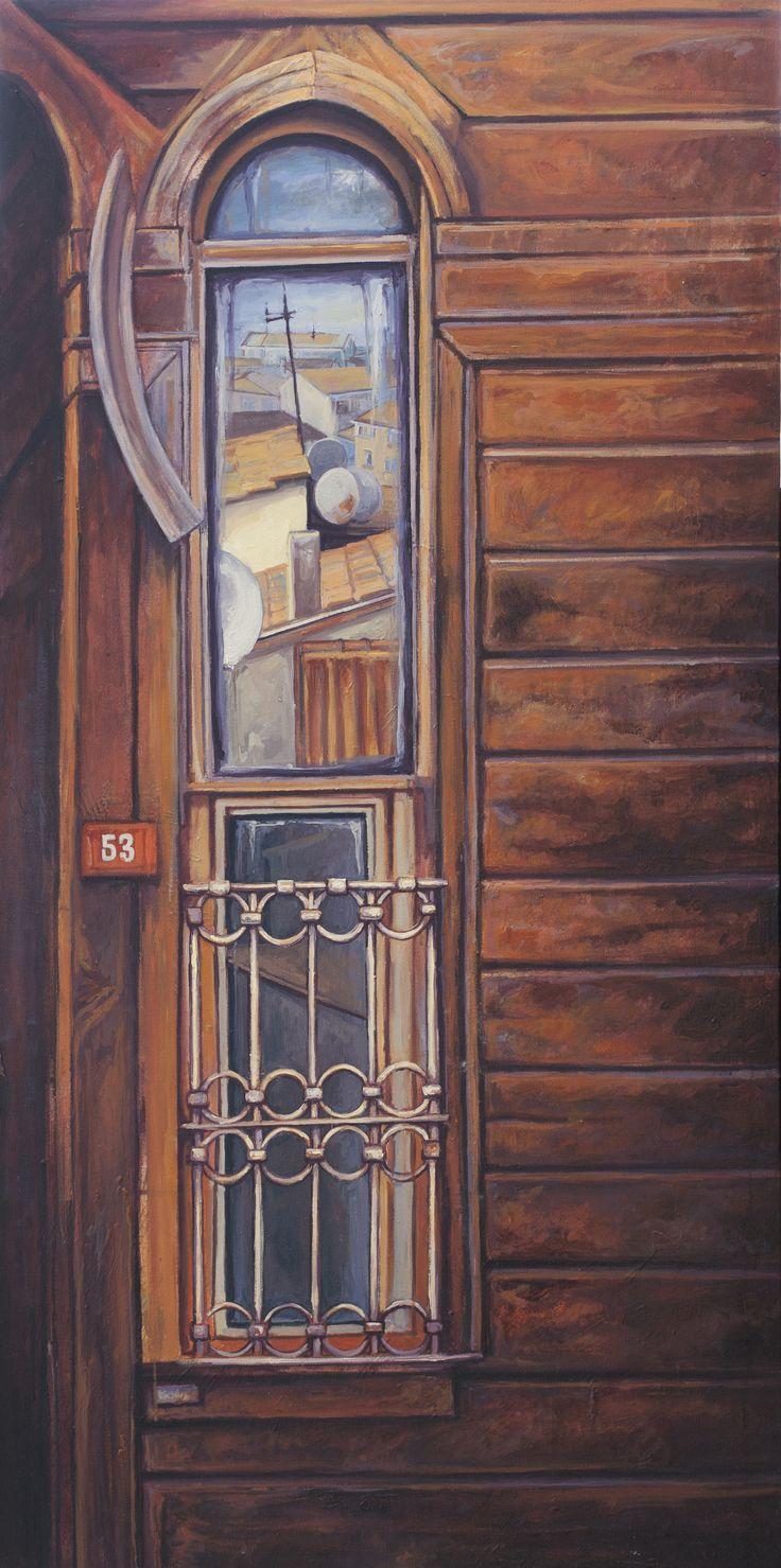 2013, 140 x 70 cm. Tuval üzerine yağlıboya / Oil on canvas