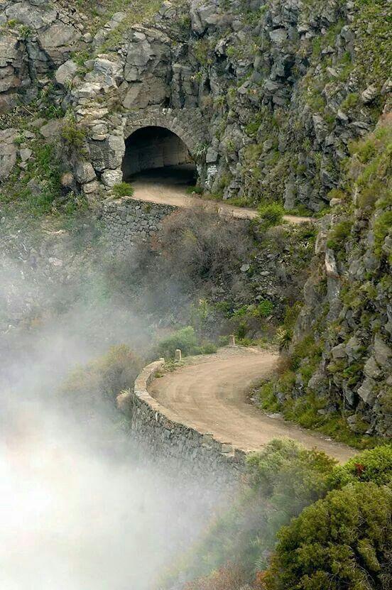 Cordoba. Sierra del Pocho. Tuneles de Taninga