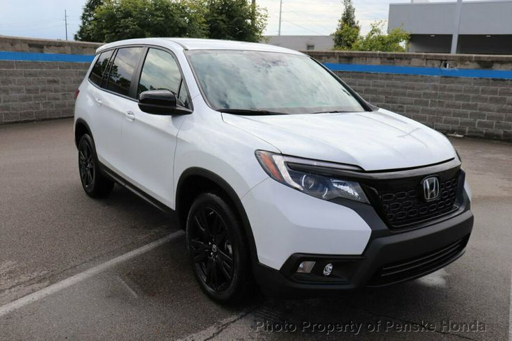 2019 Honda Passport Sport Awd Port Awd New 4 Dr Suv