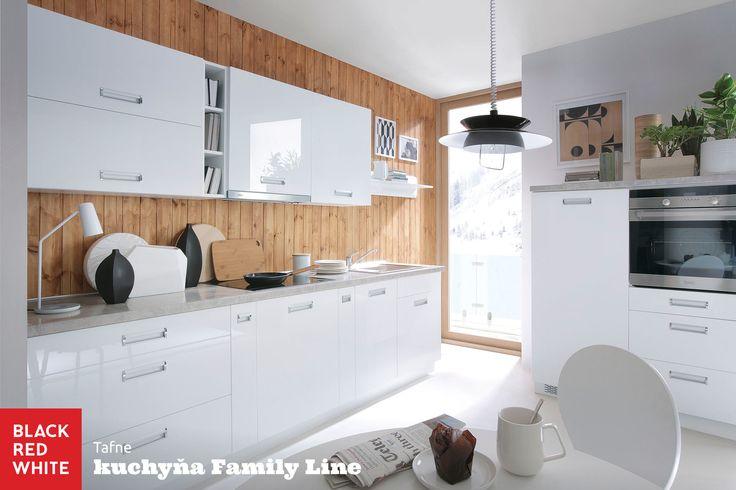 Kuchyňa na mieru Family Line, prevedenie Pesen 2 od Black Red White. Navštívte naše kuchynské štúdiá - http://www.brw.sk/predajna-siet/  #kuchyna #kitchen #home #family #interior #blackredwhite