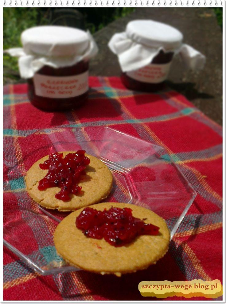 Czerwona porzeczka na ostro! | szczypta-wege, czyli kulinaria po studencku