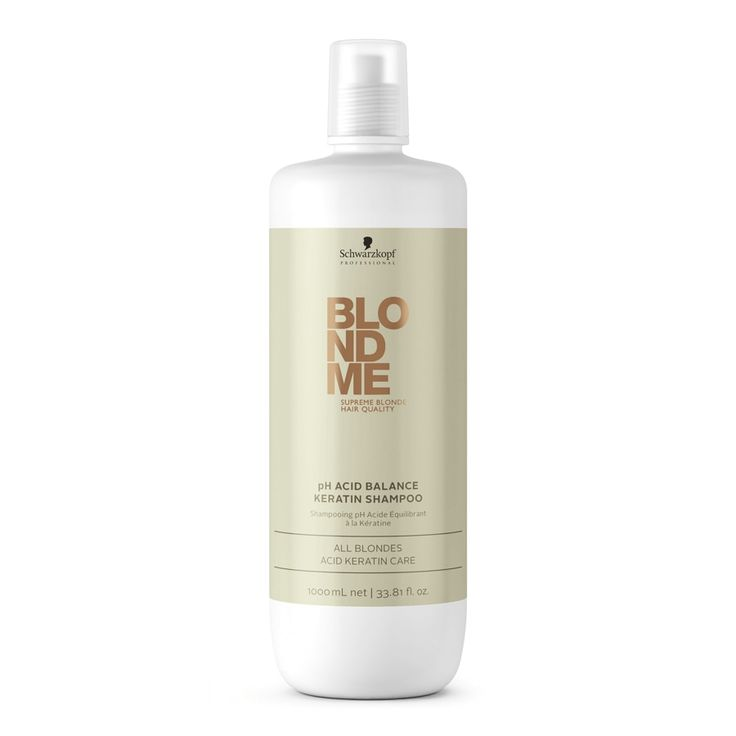 Schwarzkopf Professional BlondMe pH Acid Balancd Keratin Shampoo