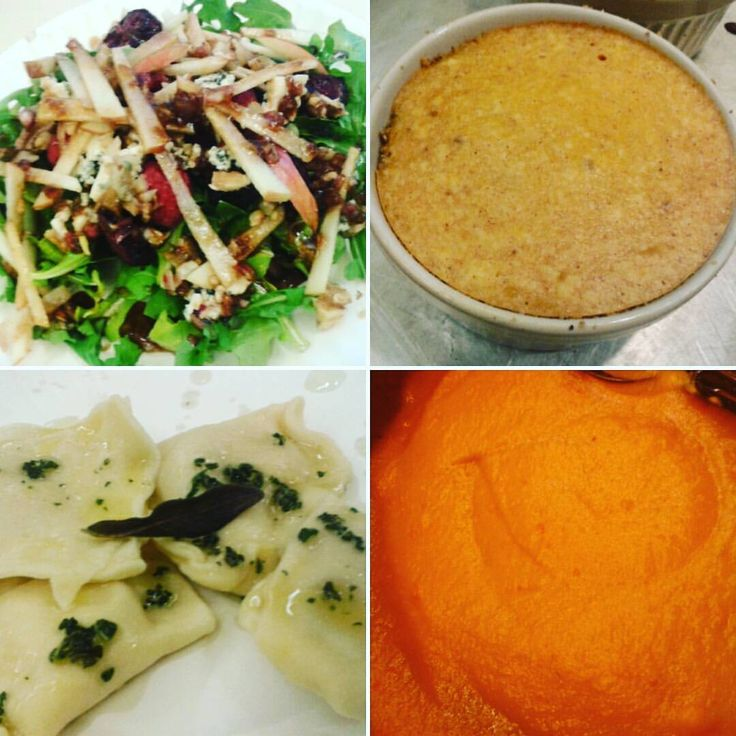 Meal from the Fall Harvest Feast Class #pccookingschool #store368 #yum