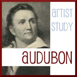 John James Audubon artist study with crossover into nature study (birds). Charlotte Mason Homeschool