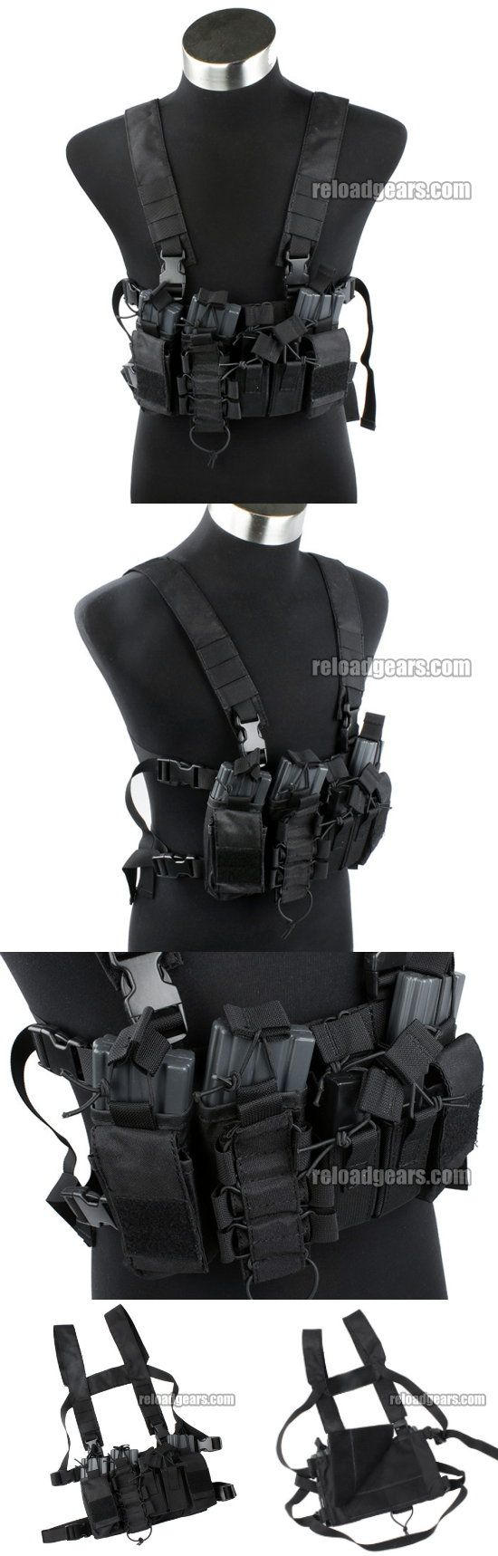 TMC D-Mittsu D3 Tactical Chest Rig (Black) [TMC2077-BK] - $49.99 : Reload Gears, Combat Gears Airsoft Parts and RC 1 10 Car Parts