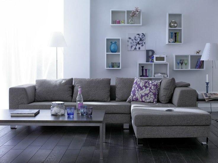 salas en color gris