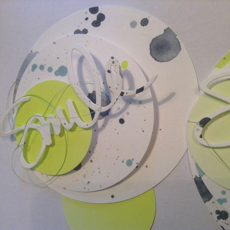 Einladungskarte zur Geburtstagsparty - für Jungs, Trends in neon, Material von Alexandra Renke