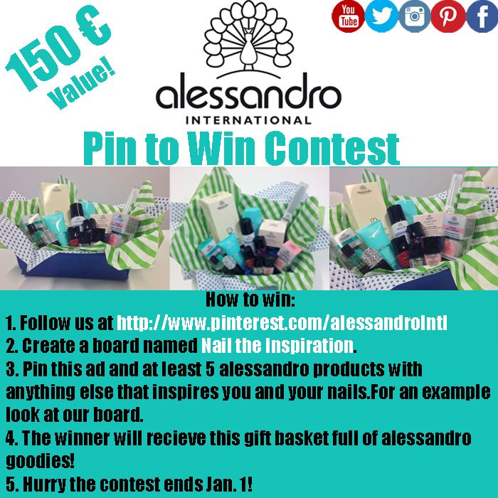 alessandro internationals first ever pinterest contest! You can pin any items from our website, pinterest boards or anywhere else you find them!! #contest #pintowin #alessandrointernational