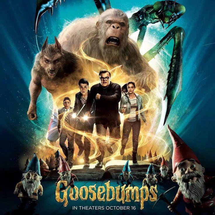 Quality Movies : GOOSEBUMPS 2015 Blu-ray dual audio 480p 350mb