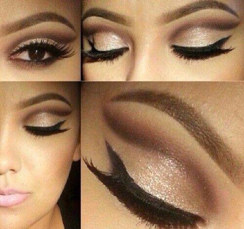 Brown Natural Eyeshadow Makeup Pinterest Natural