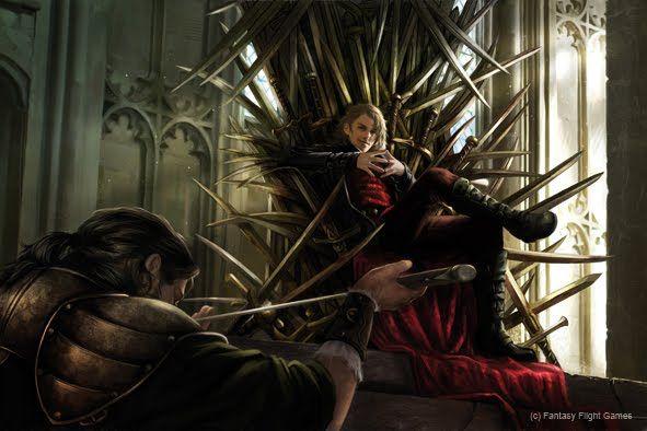 Magali Villeneuve Portfolio: A Game of Thrones LCG : Joffrey Baratheon