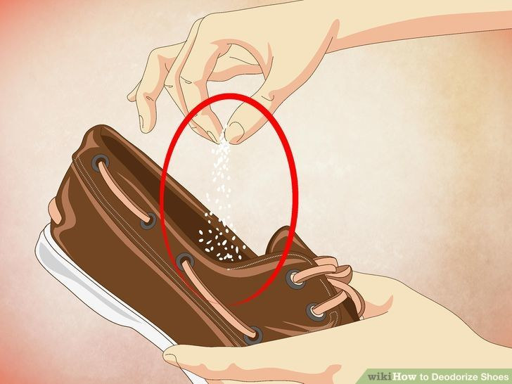 Image titled Deodorize Shoes Step 1