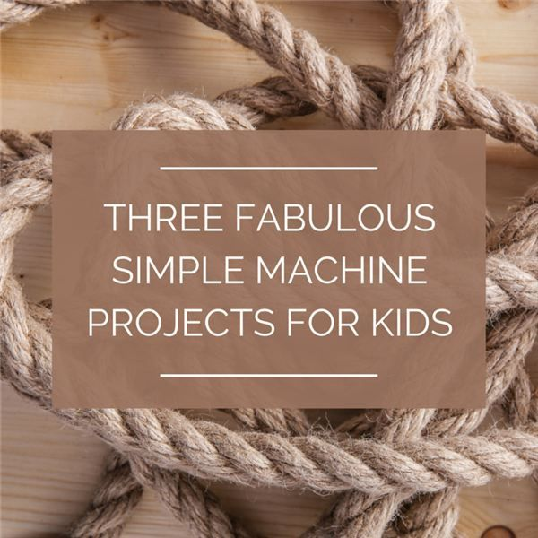 These fun, simple machine projects for kids in the elementary grades use easily gathered common household objects to make cool projects. Whether you need a class project, an idea for the science fair, or just a fun way to pass an afternoon, these projects are a fun way to learn how simple machines do work.
