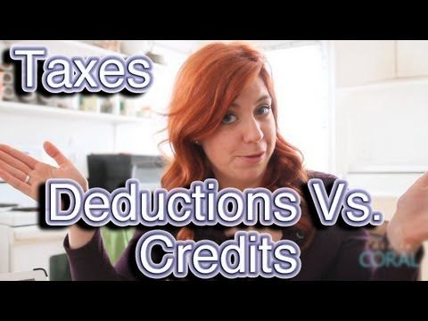 Tax time is here!  Do you know the difference between a credit & a deduction?  Find out here