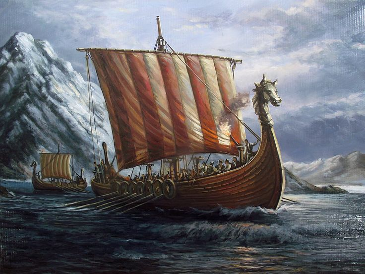 9 best images about viking long ships on Pinterest
