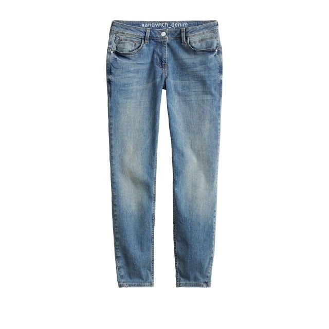 Sandwich Clothing Washed Demin Jeans Blue