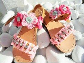 Daises Kids Sandals
