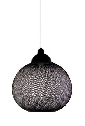Non Random light by Moooi. We used 3 of these over a staircase for an apartment in Flatiron. They looked great.