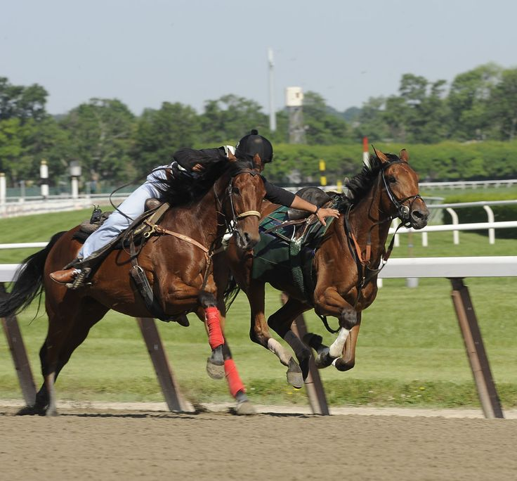 Outriders - one of the most dangerous but important jobs on the track.