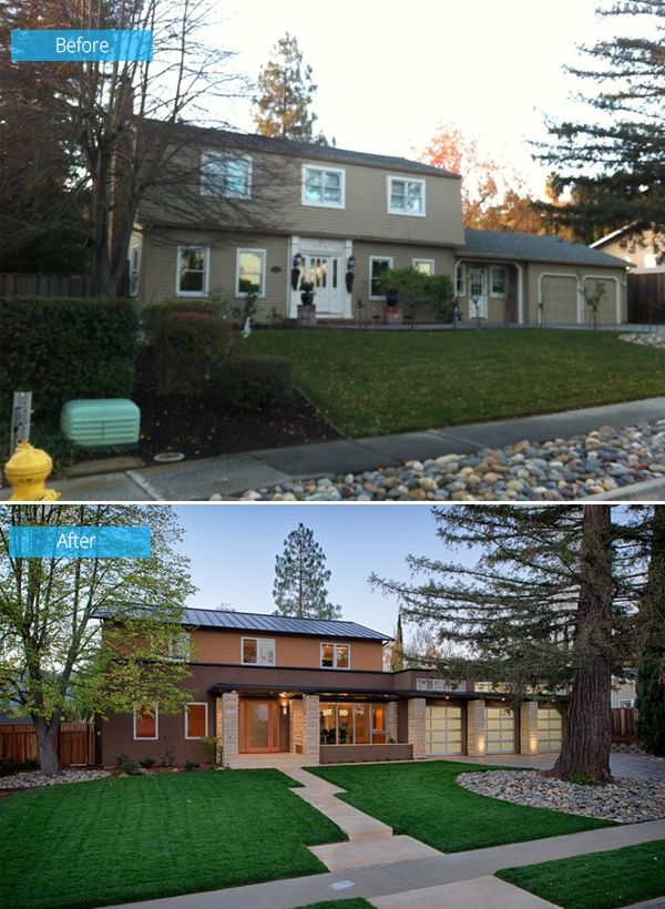 Before and After: Old House Turns Into a Kid-Friendly Modern Home