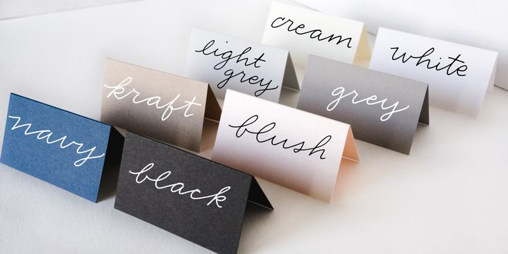 Blank Tented Place Cards | Handwritten Place Cards | Wedding Place Cards | Tented Cards | Escort Cards | Calligraphy | Cards - Set of 50 by CalligraphyByDeanna on Etsy https://www.etsy.com/listing/455428162/blank-tented-place-cards-handwritten