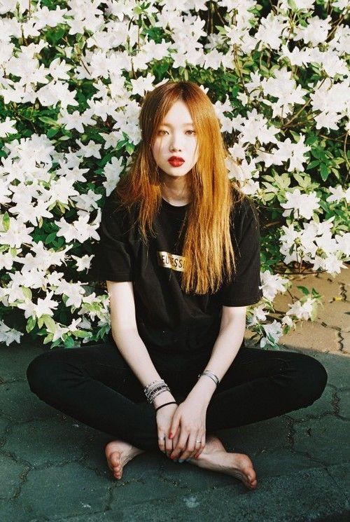lee sung kyung, model, and korean image
