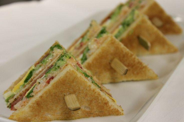 The George V Club Sandwich, Four Seasons Hotel George V, Paris - See more at: http://taste.fourseasons.com/recipe/the-george-v-club-sandwich/#sthash.DuQfCGkz.dpuf