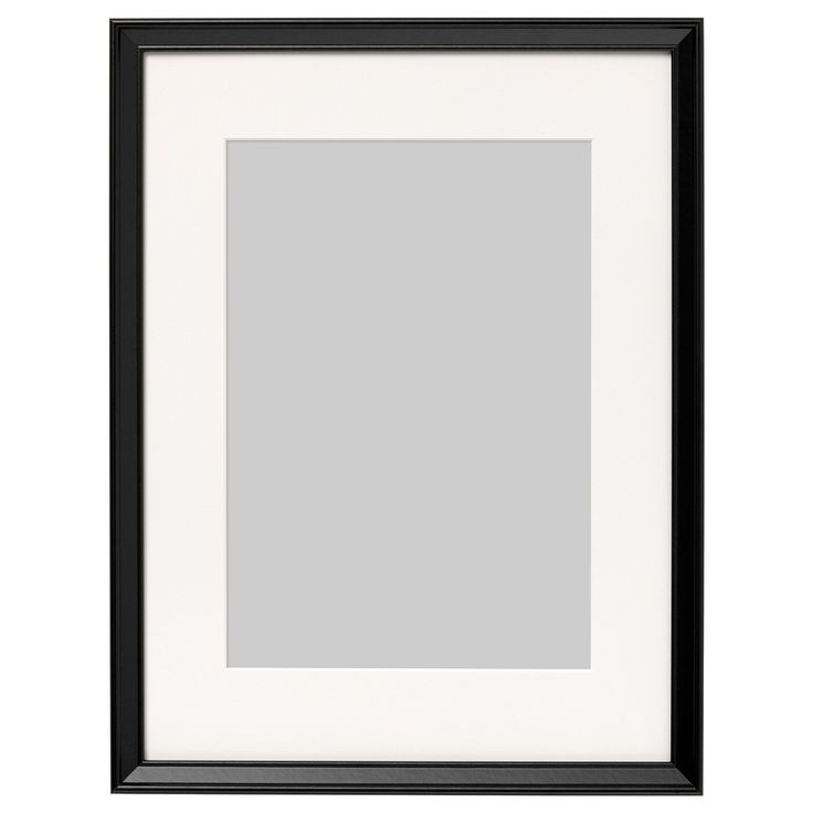 Ribba Frame Black Ikea Ikea Picture Frame Cute Picture Frames Diy Picture Frames