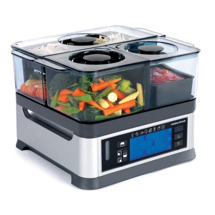 Cuit vapeur Intelligent Programmable - Morphy Richards 48780 - Achat / Vente cuiseur à vapeur - Cdiscount